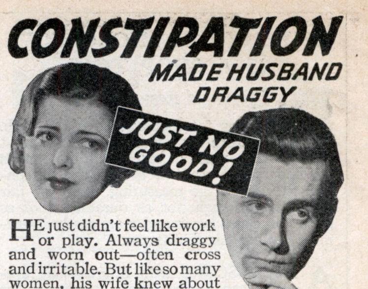 Constipação deixa o marido cansadão