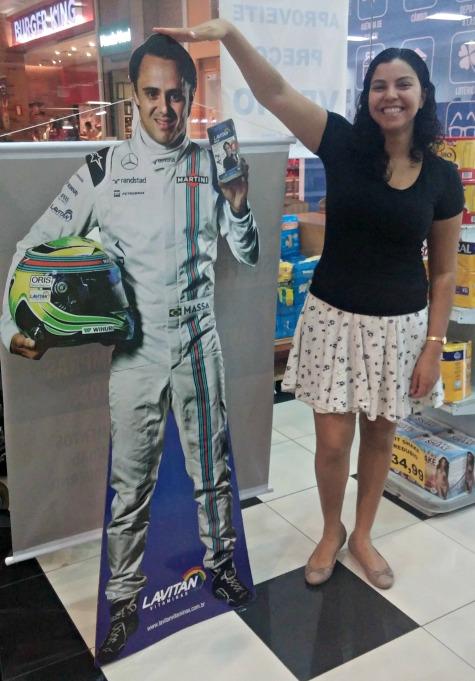 Mas eu nem sou um bom exemplo não. Olha eu aí zoando o papelão do Felipe Massa.