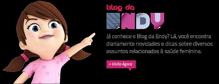 """O Centro de Endometriose São Paulo criou uma mascote chamada """"Endy"""" pra responder perguntas. Achei creepy, mas vai que ajuda, né?"""